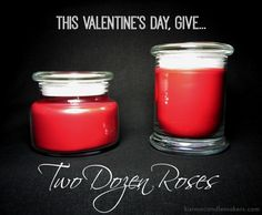 Two Dozen Roses for only $20?  Karma Candle Makers has a limited quantity of this soy candle with amazingly realistic fragrance.  Order one today for that Someone Special in your life. Maybe that someone special is you! www.karmacandlemakers.com