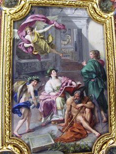 Anton_Raphael_Mengs,_The_Triumph_of_History_over_Time_(Allegory_of_the_Museum_Clementinum),_ceiling_fresco_in_the_Camera_dei_Papiri,_Vatican_Library,_1772-3.jpg (1360×1820)