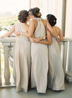Loving bridesmaid photo: http://www.stylemepretty.com/2013/03/11/kiawah-island-south-carolina-wedding-from-virgil-bunao/ | Photography: Virgil Bunao - http://virgilbunao.com/