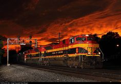 RailPictures.Net Photo: KCS 4117 Kansas City Southern Railway EMD SD70ACe at Rochelle, Illinois by Gary Morgan