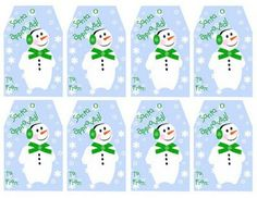 Crafty This and That: Printable Christmas Gift Tags