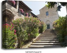 Ancient church in Bevagna