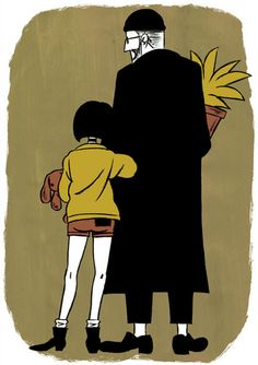 Leon the professional. I loved this movie when i was little..i don't think its for kids though lol