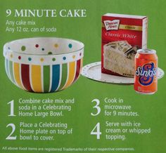 9-Minute Cake from Celebrating Home with Judy Thompson | Bride Meets Wedding Vendor | #easyrecipes | #weddings #iowa