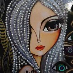 Frida Art, Origami Paper Art, Texture Art, Art Journal Inspiration, Whimsical Art, Face Art, Indian Art, Art Pictures, Creative Art