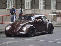 VW chopped top beetle