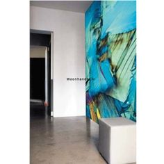 Poster 1241 Blue Sculpture Evolution Fantasie - Woonhandel