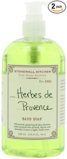 Stonewall Kitchen Herbes de Provence Hand Lotion