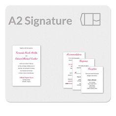 Panel Pocket 5x7 Invitation Template   Plan it   Pinterest ...