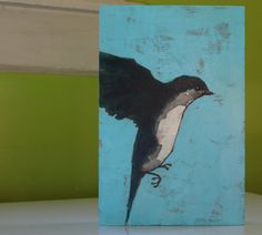 coming in to land original house swallow white teal by a2n2koon