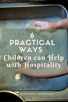Children can help with hospitality! Here are 6 practical ways your children can be involved and helpful when guests are about to arrive! Christian Homemaking, Christian Parenting, Parenting Toddlers, Parenting Advice, Foster Parenting, Serving Others, Raising Kids, Etiquette, Hospitality