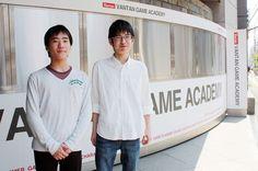 【バンタンゲームアカデミー】『Students Interview』 バンタンゲームアカデミー高等部 圓谷さん、須田さん