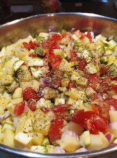 Pasta Salad, Cobb Salad, Ethnic Recipes, Food, Crab Pasta Salad, Essen, Meals, Yemek, Eten