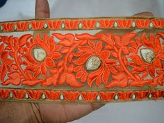 Embroidered Indian Trims Sari Border Trimming   You can purchase from below link or What's App no. is +91-9999684477. We also take wholesale inquiries   http://shopofembellishments.com/tri1910-indian-laces-and-trim
