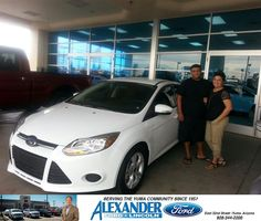 #HappyBirthday to Walter Flores from Sandra Lorena Valenzuela at Bill Alexander Ford Lincoln!