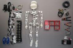 Poppy, el robot que se puede construir en casa con una impresora 3D / @materia_ciencia | #socialmaker #sci #tech #inn