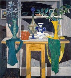Shadowed Interior by William Gillies (1898-1973)