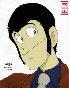 lupin lll #animation lupin III colored by reijr.deviantart.com on @deviantART