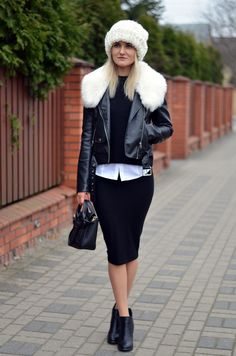 B&W,street style,fashion,outfit