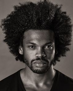 natural hair for men To learn how to grow your hair longer click here - http://blackhair.cc/1jSY2ux