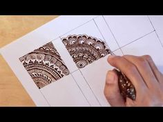 embellishment 30 : how to layer filler elements to create intricate mehendi - MyStyles