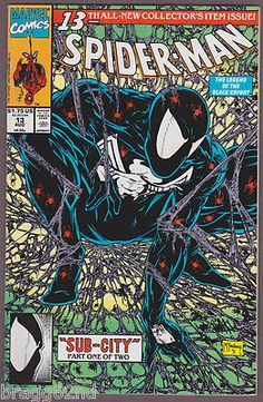 todd mcfarlane symbiote spiderman This is my favorite Spiderman cover of all time Black Spiderman, Amazing Spiderman, Spiderman Marvel, Marvel Comics, Marvel Comic Books, Marvel Heroes, Comic Books Art, Venom Comic Book, Marvel Fan