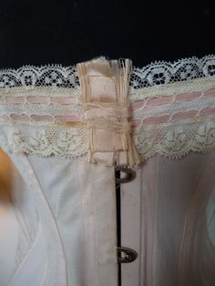 Pale Pink Corset, ca. 1905
