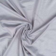 Jersey, grå med sølv glimmer