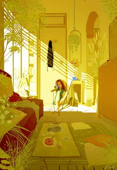 Enjoy the diverse gallery of summer illustrations by famous artist Pascal Campion: nature, people, sun and love in digital art. Illustrations, Illustration Art, Stock Design, Pascal Campion, Inspiration Artistique, Poster S, Wow Art, Anime Chibi, American Artists