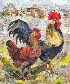 LATITUDE QUILTS, Edrica Huws art
