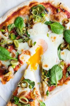 This delicious recipe for a homemade Fiorentina pizza is made extra special with the addition of leeks!