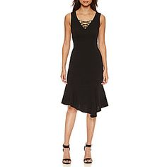 FREE SHIPPING AVAILABLE! Buy Bisou Bisou Lace Up Dress at JCPenney.com today and enjoy great savings.