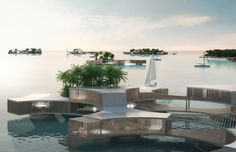 Eco Friendly Lodgings Maldives  от ARCHITECTURELOVER.COM