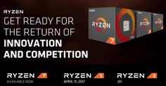 AMD, Ryzen 5 serisi işlemcilerinyurt dışı fiyatlarını ve çıkış tarihini açıkladı. AMD bir süre önce Zen mimarisi üzerine kurulan Ryzen işlemci ailesini resmen tanıtmıştı. Ardından da Ryzen 7 serisi olarak tanımlanan üst seviye modeller, Mart başı itibariyle satışa çıkmıştı. Ancak Ryzen...   https://havari.co/amd-ryzen-5-islemcilerin-fiyatlari-belli-oldu/