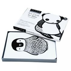 Wee Gallery Black and White Collection Art Flashcards