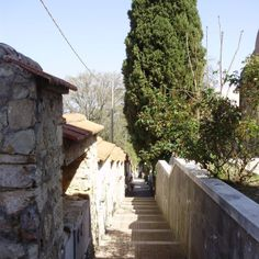 """Scale """"piranesiane"""" del Cimitero di Larino"""