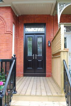 This is the kind of narrow double door i want for my for Narrow exterior french doors