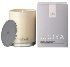 ECOYA Madison Jar - Coconut & Elderflower  http://www.ecoya.com/