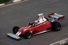 Regazzoni 1975 Brazil Ferrari 312B3
