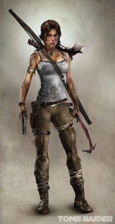 Watch the trailer for the new Tomb Raider game... it's beautiful. And I'm gonna be that fit!