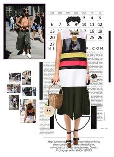 """How I would wear it.."" by matea ❤ liked on Polyvore featuring moda, Rosie Assoulin, Jennifer Behr, Fendi, Bansri, Givenchy y Marni"