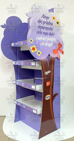 Display Milka Easter - Cardboard