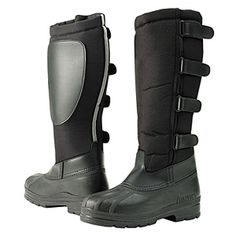 Great buy on kids winter riding boots!