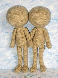 CROCHET - DOLL - FREE - Easy free pattern by Poy