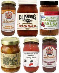 Fruit Salsa Sampler  - Mother's Day Gifts