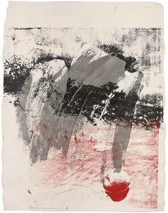 Robert Rauschenberg (1925-2008) Eve-Ning (Passes), 1988