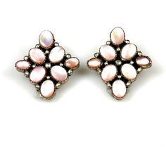 Vintage Sterling Silver Pink Mother Of Pearl by TheFashionDen, $25.00