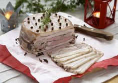 Norwegian Food, Scandinavian Food, Camembert Cheese, Side Dishes, Dairy, Food And Drink, Bread, Cooking, Christmas