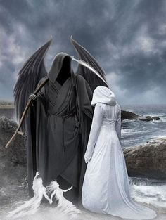 You might be a king or a little street sweeper, but sooner or later you dance with the reaper.