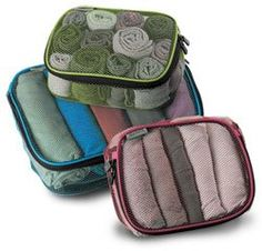 Packing Cubes: Absolutely essential for packing in a small suitcase.